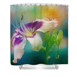 Blushing Shower Curtain