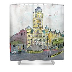 Bmc Mumbai Shower Curtain