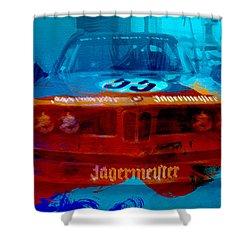 Bmw Jagermeister Shower Curtain by Naxart Studio