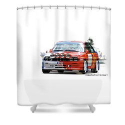 Bmw M3 Group A Shower Curtain
