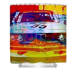 Bmw Racing Shower Curtain