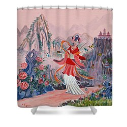 Bo Chaa Shower Curtain