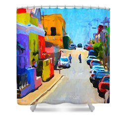 Bo-kaap Shower Curtain
