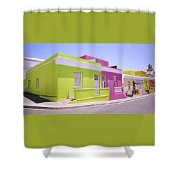Bo Kaap Color Shower Curtain by Shaun Higson
