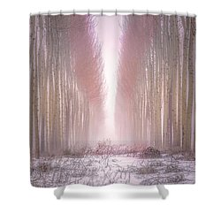 Boardman Tree Farm  Shower Curtain