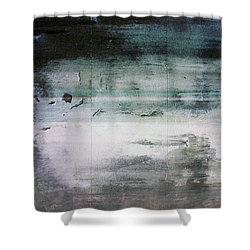 Boardwalk Blues- Art By Linda Woods Shower Curtain by Linda Woods
