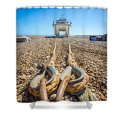 Boat Ropes. Shower Curtain