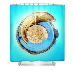 Boat Spin Shower Curtain