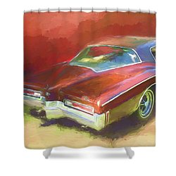 Boat Tail Buick Shower Curtain