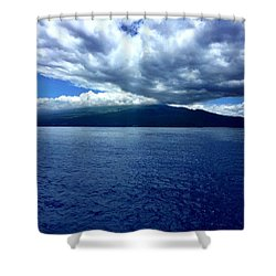 Boat View 2 Shower Curtain