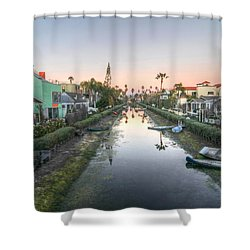Boats On The Side Shower Curtain