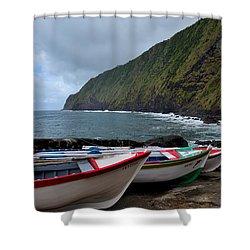 Boats,fishing-23 Shower Curtain