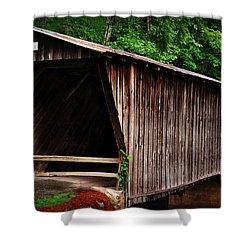 Bob White Bridge Shower Curtain