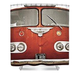 Bob Wills Bus Shower Curtain