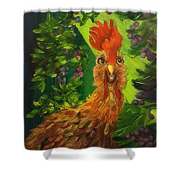Bobbies Fermented Grapes   90 Shower Curtain