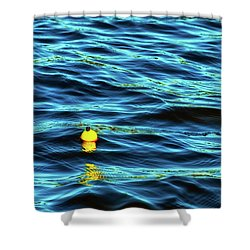 Bobbing Bobber Shower Curtain
