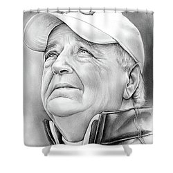 Bobby Bowden Shower Curtain