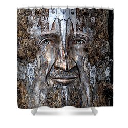 Bobby Smallbriar Shower Curtain by Rick Mosher