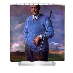 Bobbyjones-openchampion1926 Reproduction Shower Curtain
