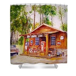 Bobs General Store Shower Curtain