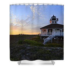 Boca Grande Lighthouse, Gasparilla Island, Florida, U S A Shower Curtain