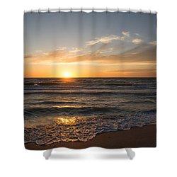 Boca Grande Sunset Shower Curtain