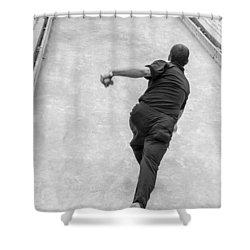 Bocce Ball Shower Curtain