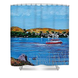 Bodega Bay From Campbell Cove Shower Curtain