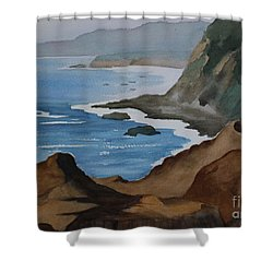 Bodega Bay Shower Curtain