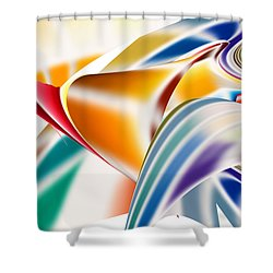 Bodega Shower Curtain