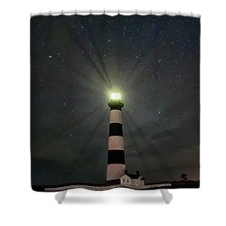 Bodie Beams Shower Curtain