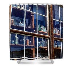Bodie Bottles #1 Shower Curtain