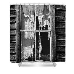 Bodie Ghost Town Shower Curtain by Sandra Bronstein