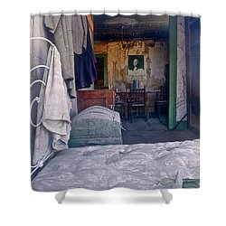 Bodie House Of Ill Repute Shower Curtain