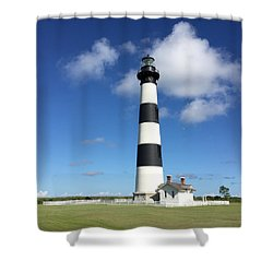 Bodie Island Lighthouse Cape Hatteras Shower Curtain