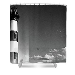 Shower Curtain featuring the photograph Bodie Island Lighthouse by David Sutton