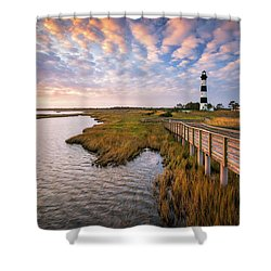 Bodie Island Lighthouse Outer Banks North Carolina Obx Nc Shower Curtain