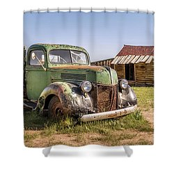 Bodie Pickup Truck Shower Curtain