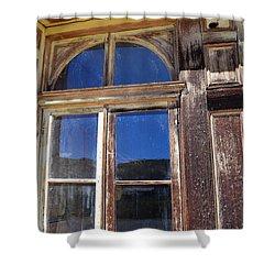 Bodie Woodwork Shower Curtain