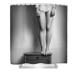 Body #7044 Shower Curtain