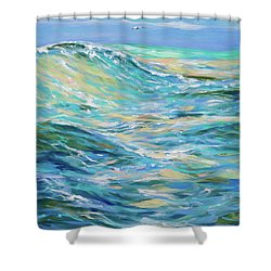 Bodysurfing North Shower Curtain