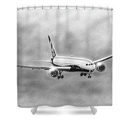Boeing 787 Shower Curtain