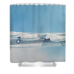 Boeing B-52d Stratofortress  Shower Curtain