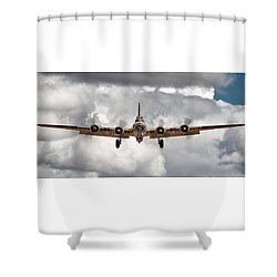 Boeing Inbound Shower Curtain