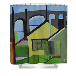 Bogota 80 Shower Curtain by Ron Erickson
