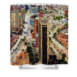Bogota Colombia Shower Curtain