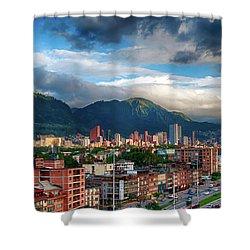 Bogota Shower Curtain
