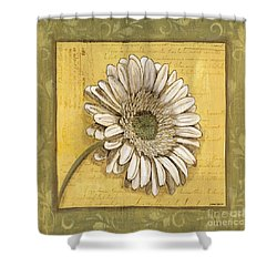 Bohemian Daisy 1 Shower Curtain