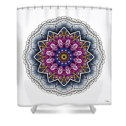 Boho Star Shower Curtain by Mo T