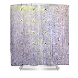 Boiler Tank Shower Curtain by Linda Geiger